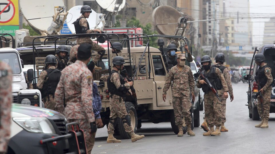 Rangers will save us, save our economy from terror: attack on the Pakistani stock exchange