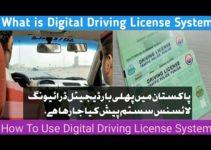 Pakistan digital driver's license system